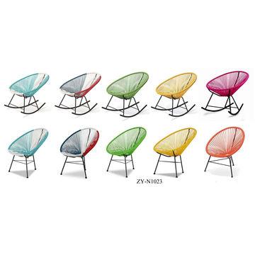 China Outdoor Egg Chair Garden Swing Shaped Hotel Indoor Rattan Wicker