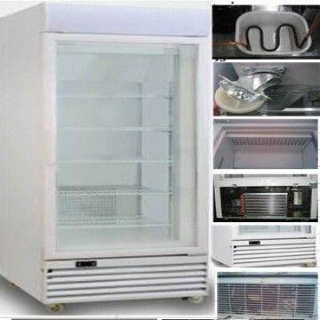 china upright showcase freezer for ice cream display upright freezer showcase - Small Upright Freezer