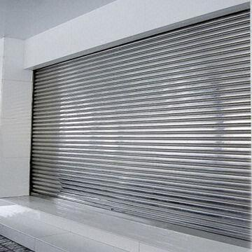 Roller Shutter Door China Roller Shutter Door & Stainless Steel Roller Shutter Door Can be Manually Operated or ...
