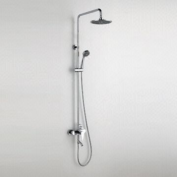 China 3 Function Giving Water Bath Shower Faucets, Single Handle, Brass  Diverter,