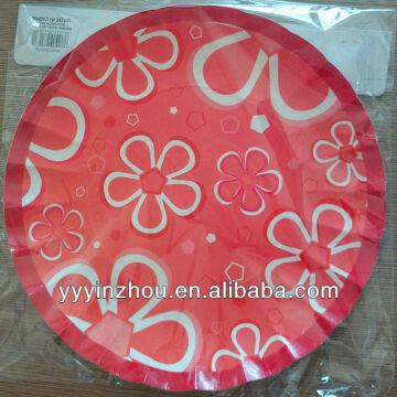 Red Strawberry Disposable Paper Plates China Red Strawberry Disposable Paper Plates : strawberry paper plates - pezcame.com