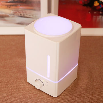 China AN-1618 1.5L Capacity PP Ultrasonic Cool Mist Humidifier, Aroma Essential Oil Diffuser White