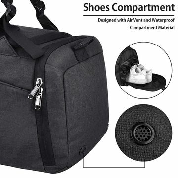 88a189091 ... China Gym Duffle Bag Waterproof Trave Bag for Men Women, with Shoes  Compartment ...