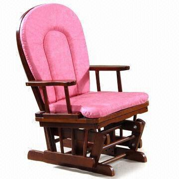 China Baby Rocking Chair With Cushions Made Of Imported Rubber Wood
