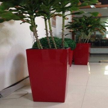 China large square flower pots  home square planter pots  square pots for big  tree. large square flower pots  home square planter pots  square pots