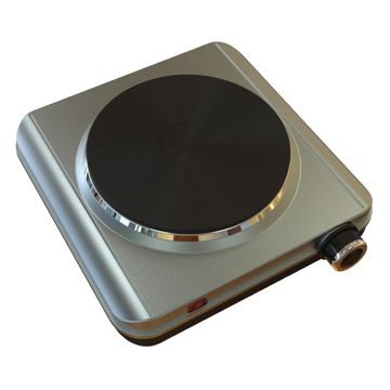 ... China Portable Single Electric Hot Plate With Chrome Plating And  Adjustable Temperature Control ...