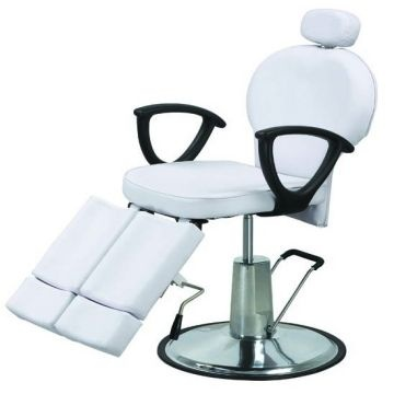 Beauty Chair 2013 white leans back salon beauty chair/barber chair rj-2102
