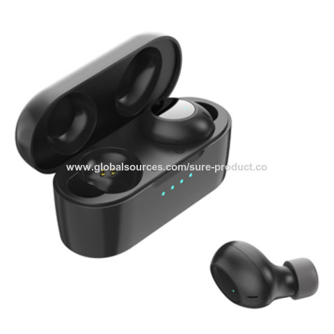 36c65d12792 China New TWS Bluetooth 5.0 wireless earbuds with chaging base 420mah High  quanity super mini design ...
