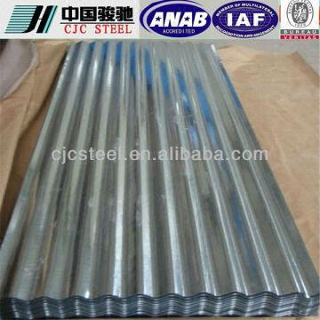 China Gl Galvalume Corrugated Sheet Alluminum Zinc Steel Coil Roofing Sheets