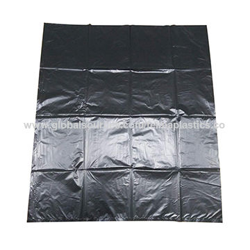 China Extra Strong Black Hdpe Plastic Garbage Bags