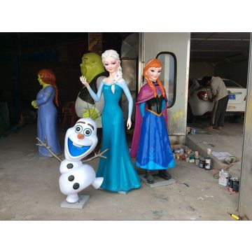 Park Decoration Life Size Resin Character Movie Cartoon