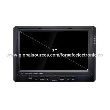 "China 7"" TFT LCD Monitor Car Backup System with Waterproof Camera IP69K Rating/Anti-fog Rearview Camera"