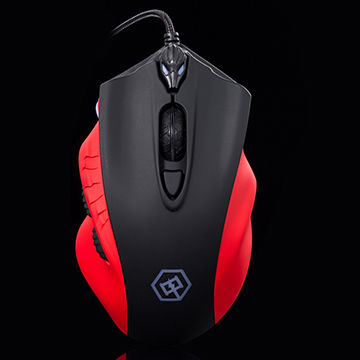 China 7000DPI Wired Mouse, 4 Adjustable DPI Levels, 7-button