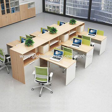 China Modular Office Desk 6 Seater Office Workstation Office Partition On Global Sources Office Workstation Office Desk Office Partition