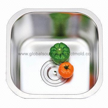 Single Bowl Stainless Steel Kitchen Sink Without Faucet Hole Small Size Space Saving Global Sources