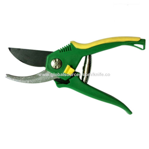 China Black coated garden scissors on Global Sources