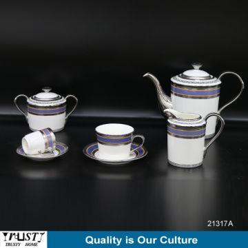 ... China Fine Porcelain Royal Dinner Set Ceramic Arabic Din & Fine Porcelain Royal Dinner Set Ceramic Arabic Dinnerware Set with ...