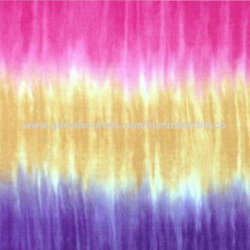 China Tie dye rayon fabric