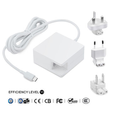 China 61W USB C Power Adapter AC Charger 20.3V3A for Macbook Pro 13-inch 2016 compatible 29W14.5V 2A