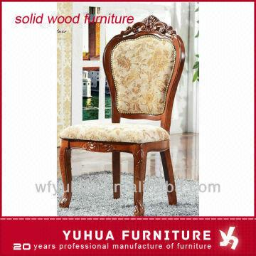 China Hotel Use Wood Frame Chinese Antique Hand Carved Wood Chairs