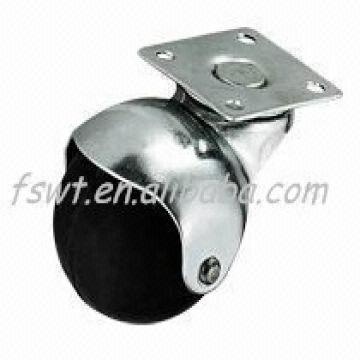 China Light Duty fice Chair Swivel Rubber Caster Wheel