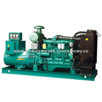 300kVA Perkins Sound-proof Diesel Generator, 50Hz Rated Frequency