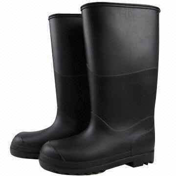 Fashionable/Durable Men's Rain Boots w/ Stylish Design ...