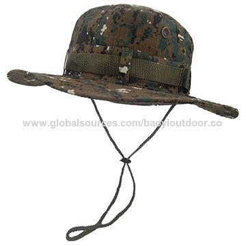 cf225f4e5c9 China Men s Military Camo Hat Woodland Digital-Boonie Hat on Global ...