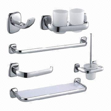 Bathroom Fittings/Accessories, 12pcs/Set, Made of Zinc | Global Sources