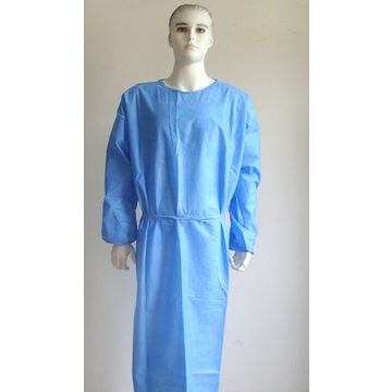 Disposable SMS Surgical Gown/Disposable Medical Protective Gown ...