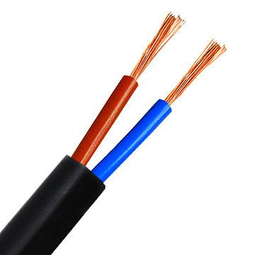 China Round Shape Multi-core Flexible Copper Conductor Cable, PVC ...