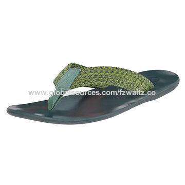 93a13a35e China Hot sale men beach flip flops from Fuzhou Trading Company ...