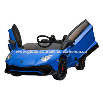 China Lamborghini Licensed Kids Ride On Car 12v Electric Toy Car On