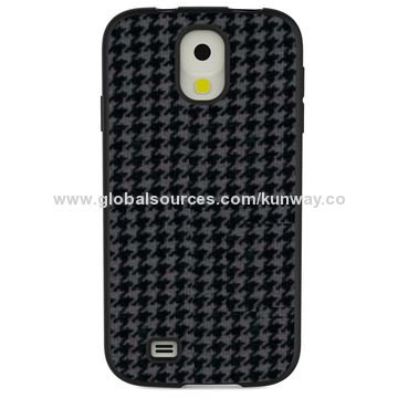 China PU leather covers, combine with TPU+ PC over mold chassis