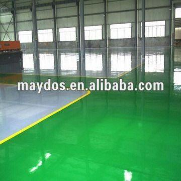 china maydos epoxy resin epoxy floor mainly used for outdoor or indoor concrete