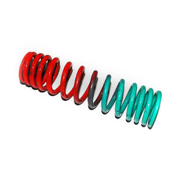 China Automotive Compression Spring with Changeable Pitch, Suitable