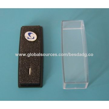 China Single-sided Badges, Lapel Pins, Made of Zinc-alloy Material