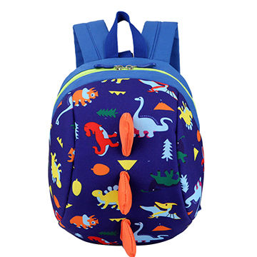 886305d2a303 China Toddler Backpack Anti lost Band Kids Children Bag Dinosaur ...