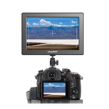 "7"" FHD Camera-top monitor with 1920x1200 resolution"