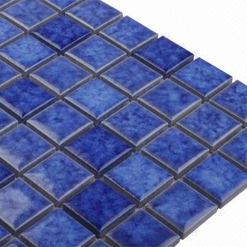 Swimming Pool Mosaic Tiles in Blue, Measures 23 x 23mm ...