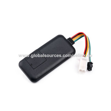 China Waterproof GPS tracker with G-sensor, supports tracking, remotely recover/cuts-off oil, mini size