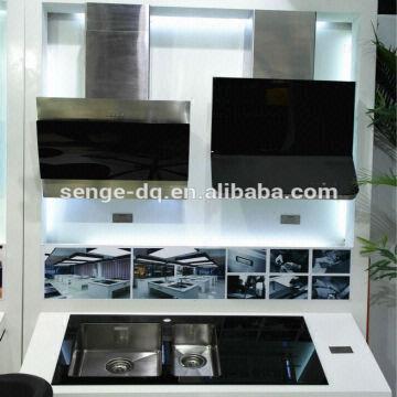 kitchen wall exhaust fan black glass range hood chimney insulation