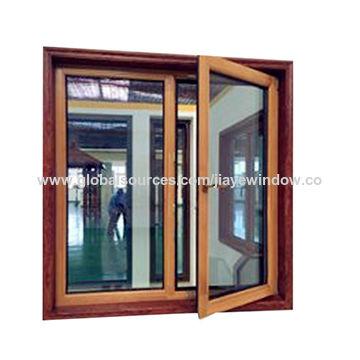 Passive House Aluminium Clad Wood Window China Passive House Aluminium Clad  Wood Window