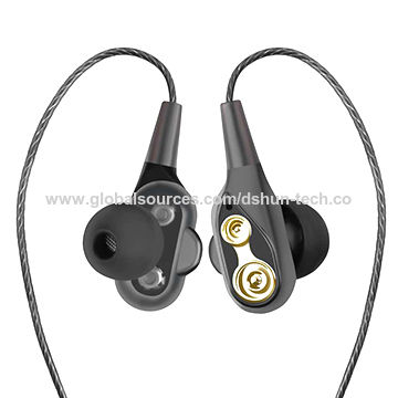 6363e2c85ec China Dual drivers Dual speaker bluetooth stereo wireless headset earphone  with mic ...