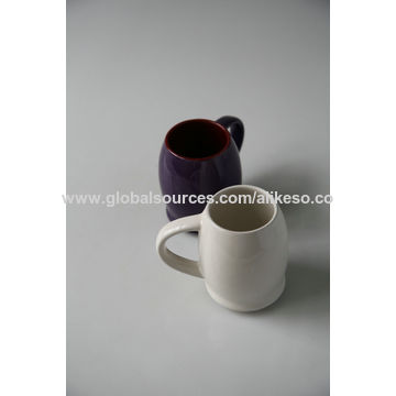 d1bca01a607 China Hot sale black promotional big ceramic beer mugs from Changsha ...