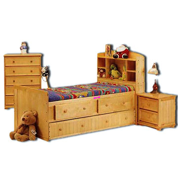 China Reproduction Antique Furniture For Kids And Children, Includes Bed, Side  Table, Drawer