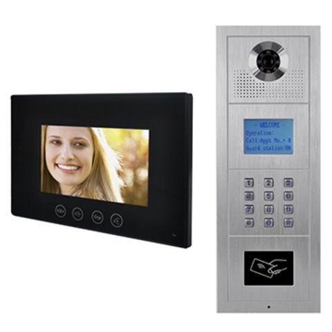 China Apartment video intercom system doorphone from Zhuhai ...