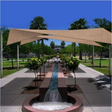 The Square Sun Shade Sail Is The Diy Shade Product That Allows You