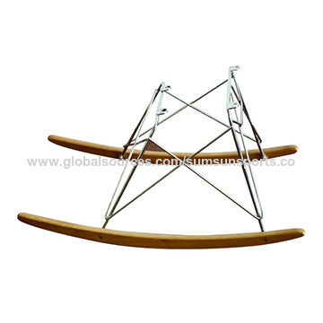 China Relex Lounge Rocking Chair Base Chair Leg With Steel Frame And Beech  Legs ...