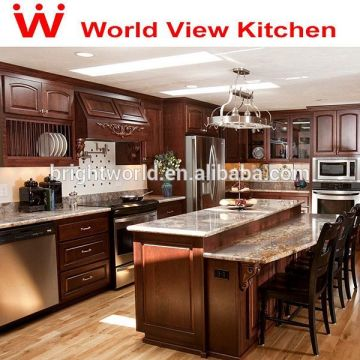 Solid wood kitchen cabinets - unfinished kitchen cabinet ...